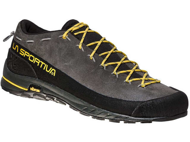 La Sportiva TX2 Leather Chaussures Homme, carbon/yellow